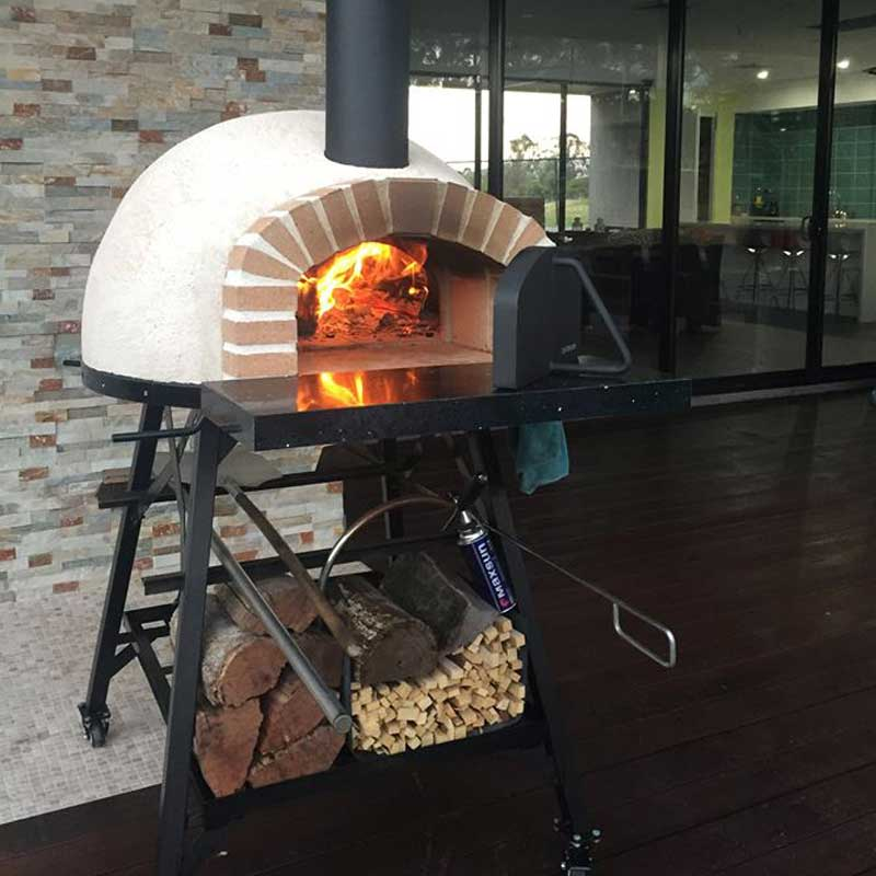 Rus 70 Portable Wood Fired Oven Brick Arch Pizza Ovens